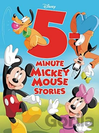 Kniha 5-Minute Mickey Mouse Stories -