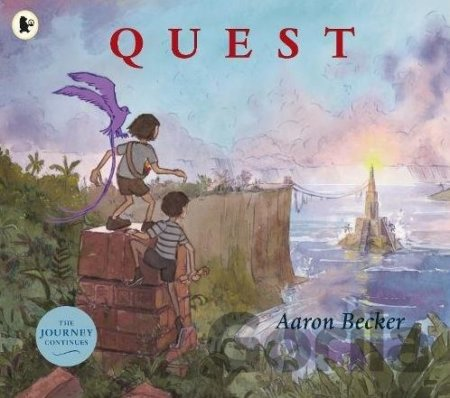 Kniha Quest - Aaron Becker