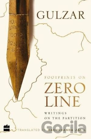 Kniha Footprints on Zero Line - Gulzar