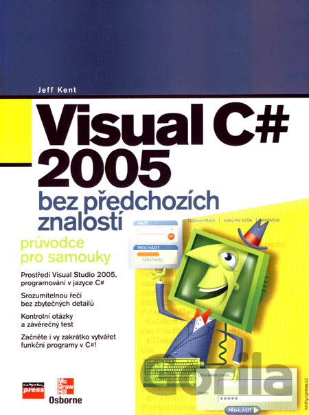 Kniha Visual C# 2005 - Jeff Kent