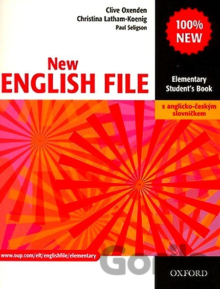 Kniha New English File - Elementary - Student´s Book -