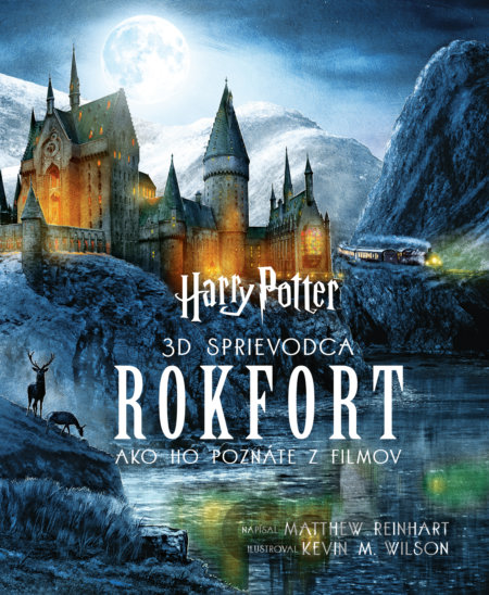 Kniha Harry Potter - Rokfort - Matthew Reinhart