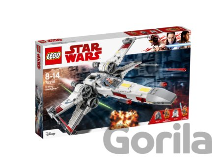 Hra LEGO Star Wars 75218 X-wing Starfighter