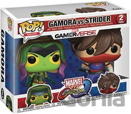 Funko POP! Games Marvel vs. Capcom Infinite: Gamora vs Strider 2-PACK