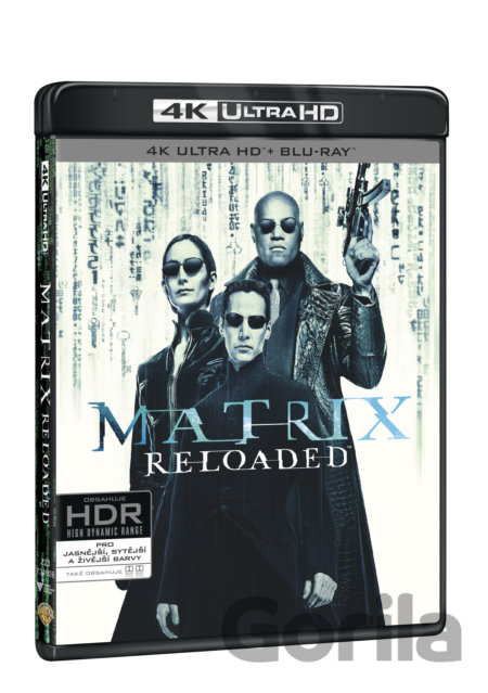 UltraHDBlu-ray Matrix Reloaded Ultra HD Blu-ray - Lilly Wachowski, Lana Wachowski