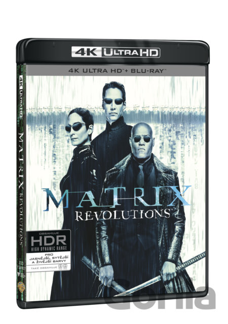 UltraHDBlu-ray Matrix Revolutions Ultra HD Blu-ray - Lilly Wachowski, Lana Wachowski