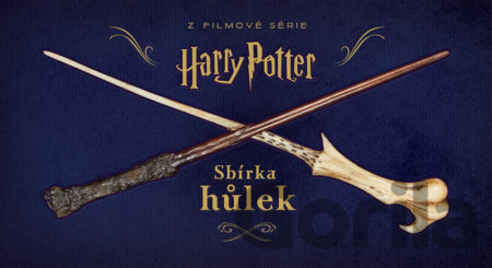 Kniha Harry Potter - Sbírka hůlek - Monique Peterson