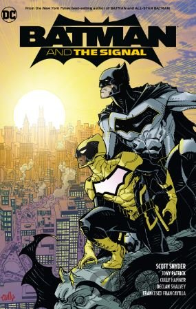 Kniha Batman and the Signal - Scott Snyder, Tony Patrick