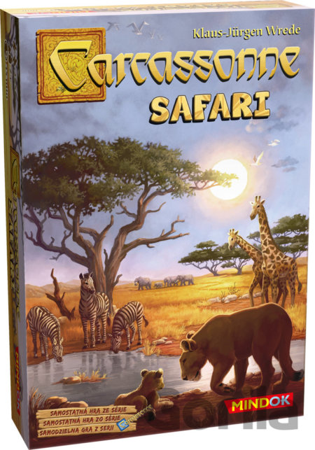 Hra Carcassonne: Safari