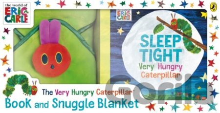 Kniha The Very Hungry Caterpillar Book and Snuggle Blanket - Eric Carle