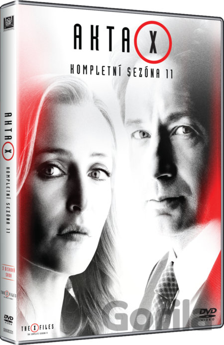 DVD Akta X 11. série - Glen Morgan, Chris Carter, James Wong, Darin Morgan