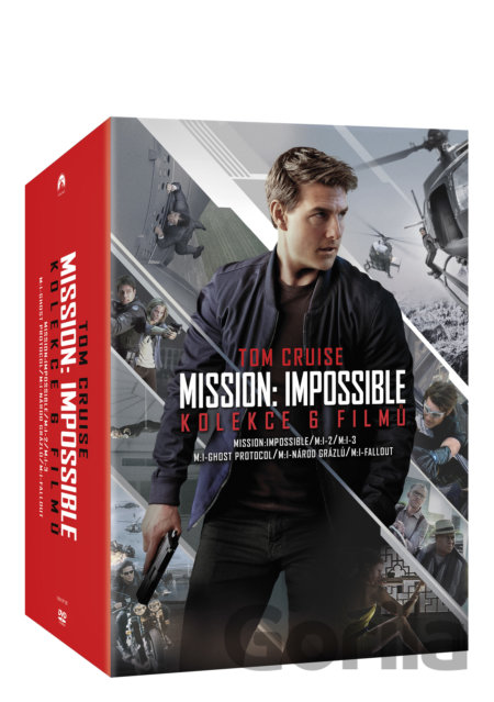 DVD Kolekce Mission: Impossible  1-6 - Christopher McQuarrie