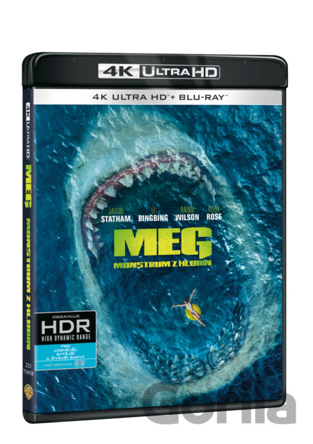 UltraHDBlu-ray Meg: Monstrum z hlubin Ultra HD Blu-ray - Jon Turteltaub