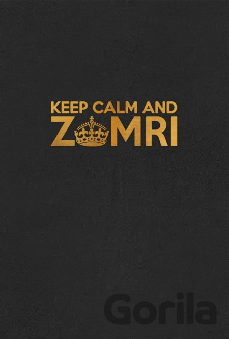 Kniha Keep Calm and Zomri -