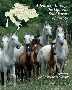 Kniha Za lipicány po hřebčínech Evropy / A Journey Through the Lipizzan Stud Farms of Europe - Dalibor Gregor