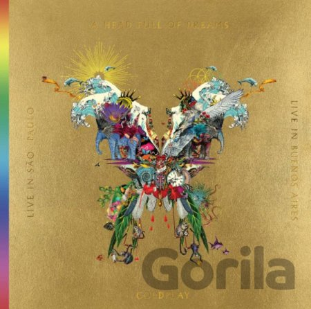 CD album Coldplay: Live In Bueno Aires/Live In Sao Paulo/A Head Full Of Dreams