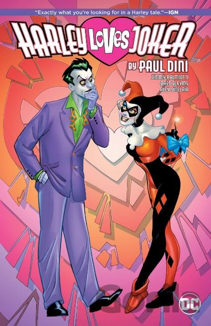 Kniha Harley Loves Joker - Paul Dini