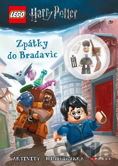Kniha LEGO Harry Potter: Zpátky do Bradavic -