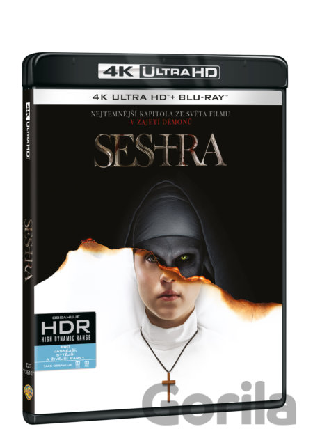 UltraHDBlu-ray Sestra Ultra HD Blu-ray - Corin Hardy