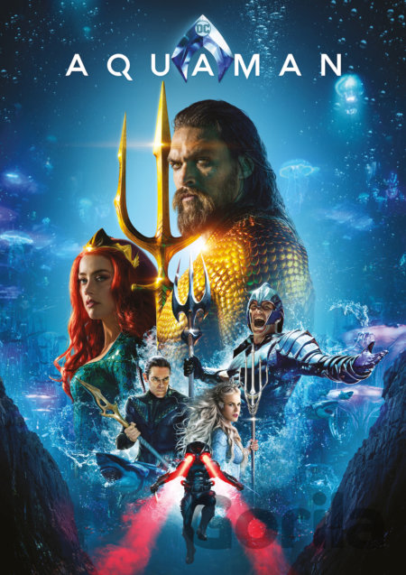 DVD Aquaman - James Wan