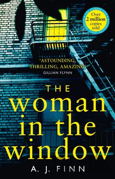Kniha The Woman in the Window - A.J. Finn