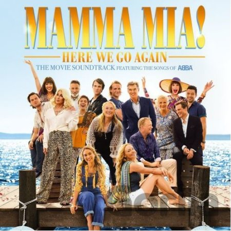 CD album Mamma Mia Here We Go Again / Limited (Singalong Version Soundtrack)