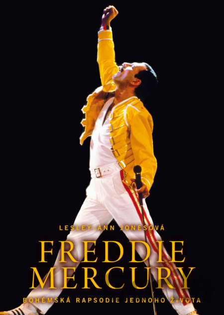 Kniha Freddie Mercury - Lesley-Ann Jones