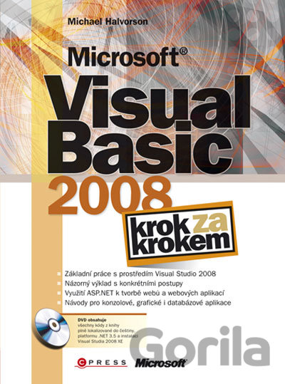 Kniha Microsoft Visual Basic 2008 - Michael Halvorson