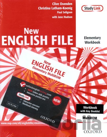 Kniha New English File - Elementary - Workbook + CD -
