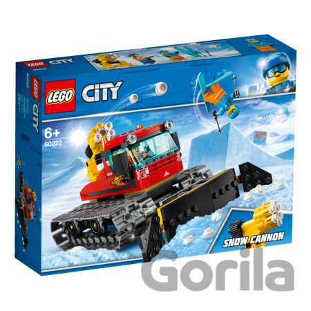 Hra LEGO City 60222 Ratrak