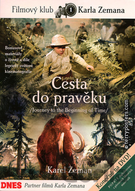 Blu-ray Cesta do pravěku - Karel Zeman