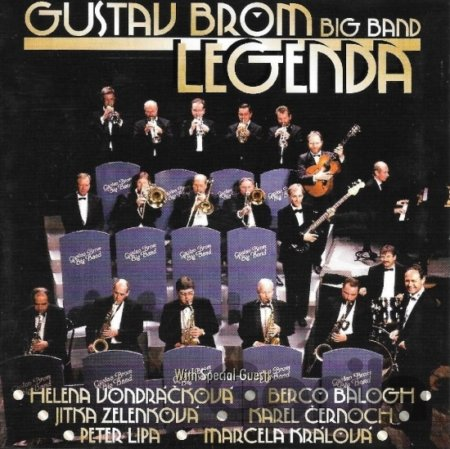 CD album Brom,g. Big Band: Legenda