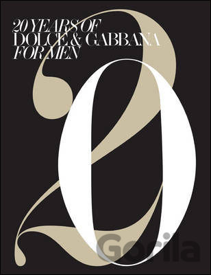 Kniha 20 Years of Dolce & Gabbana for Men -