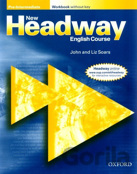Kniha New Headway Pre-Intermediate Workbook without Key (Soars, J. + L.) [paperback] - John Soars, Liz Soars