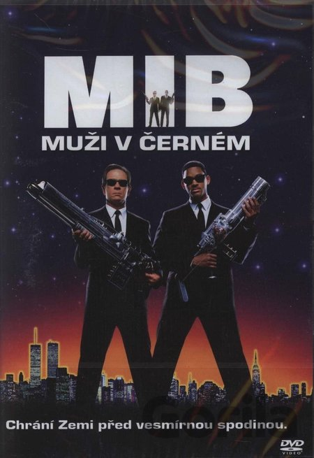 DVD Muži v černém (DVD Light) - Barry Sonnenfeld