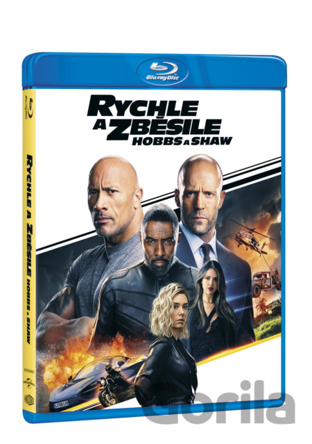 Blu-ray Rychle a zběsile: Hobbs a Shaw -