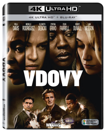 UltraHDBlu-ray Vdovy Ultra HD Blu-ray - Steve McQueen