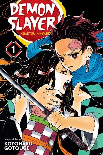 Kniha Demon Slayer: Kimetsu no Yaiba (Volume 1) - Koyoharu Gotouge