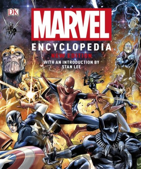 Kniha Marvel Encyclopedia -