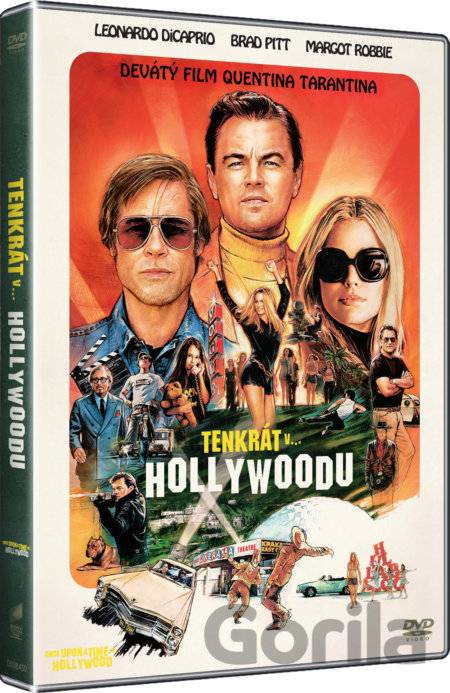 DVD Vtedy v Hollywoode (Once Upon a Time in Hollywood) - Quentin Tarantino