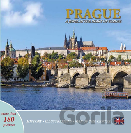 Kniha Prague - A Jewel in the Heart of Europe - Ivan Henn