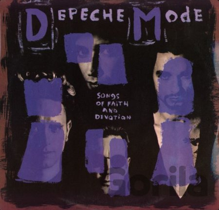 Depeche Mode:  Songs Of Faith And Devotion LP
