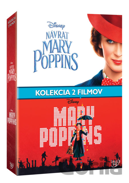 DVD Mary Poppins kolekce - Rob Marshall