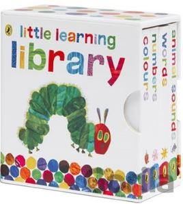 Kniha Very Hungry Caterpillar Little Learning Library - Eric Carle