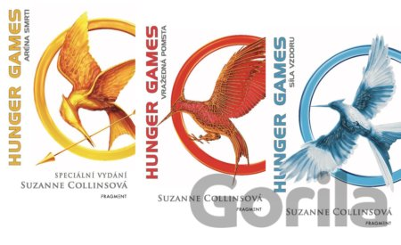 Kniha Hunger Games: Kolekce 1-3 - Suzanne Collins