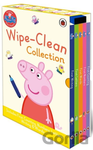 Kniha Peppa Pig Wipe Clean Board Book Collection -
