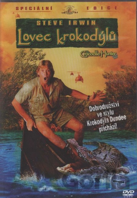 DVD Lovec krokodýlů (DVD Light) - John Stainton