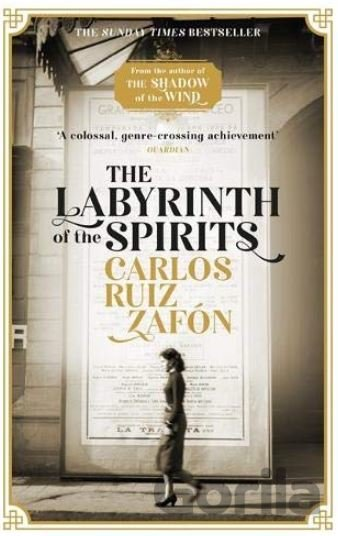 Kniha The Labyrinth of the Spirits - Carlos Ruiz Zafón