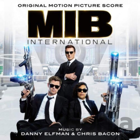 CD album Men In Black: International / Music By Danny Elfman & Chris Bacon