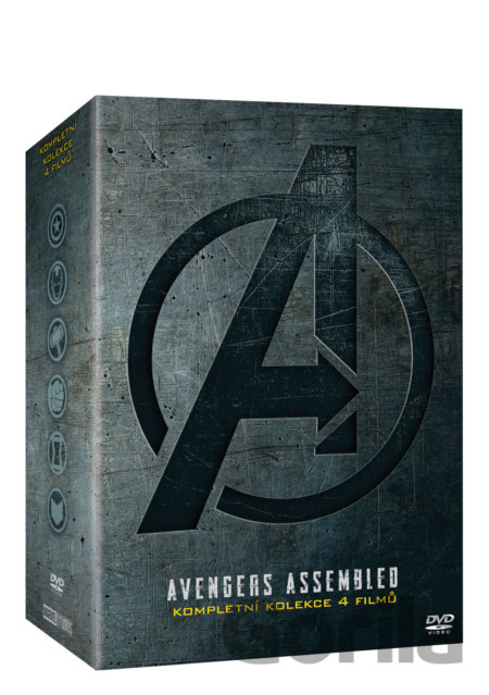 DVD Avengers kolekce 1.-4. - Anthony Russo, Joe Russo